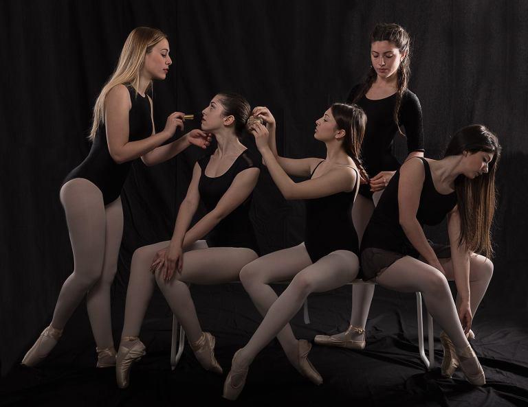 Carmen Licitra, Adriana Lauretta, Sofia Accardo, Sabrina Scalone and Federica Mazzone, La scuola di Mila - © Alessio Lupo